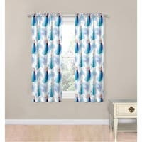 """Disney Frozen Magic Winter 63"""" Decorative Curtain Set"""