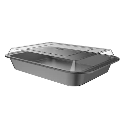 Baking Pan with Lid 2PC Nonstick 9x13 by Classic Cuisine