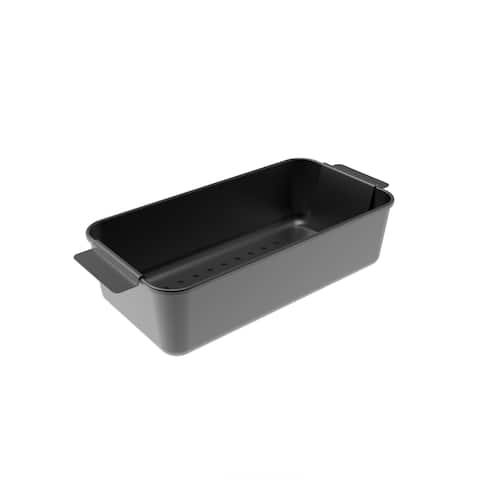 Nonstick Meatloaf Pan Insert and Strainer by Classic Cuisine