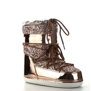 Shop Cape Robbin Women S Rose Gold Patent Leather Glitter
