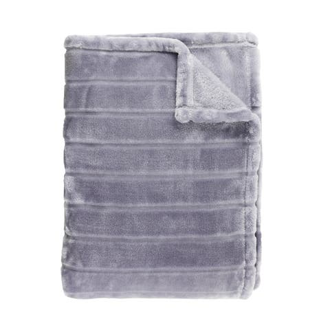 Royal Bliss Velvet Collection Extra soft and Smooth Stripe Blanket