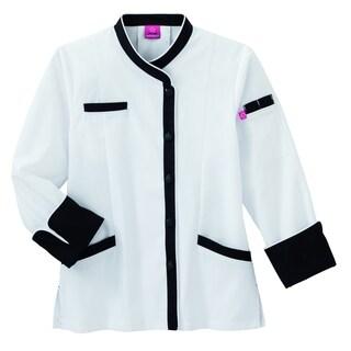 5 Star Ladies Long Sleeve Chef Coat