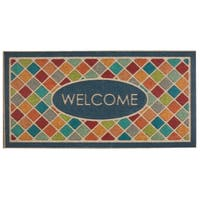Mohawk Home Ornamental Ornamental Crosshatch Entry Mat (2'x4')