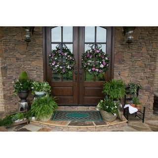 Mohawk Ornamental Retro Tiles Entry Mat (2'x4') - 2' x 4'