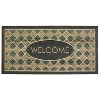Mohawk Ornamental Woodgrain Hunter Entry Mat  (2'x4') - 2' x 4'