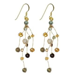 Handmade Earrings: Reena Lichen (Thailand)