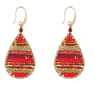 Handmade Earrings: Lauren Cherry (Thailand)