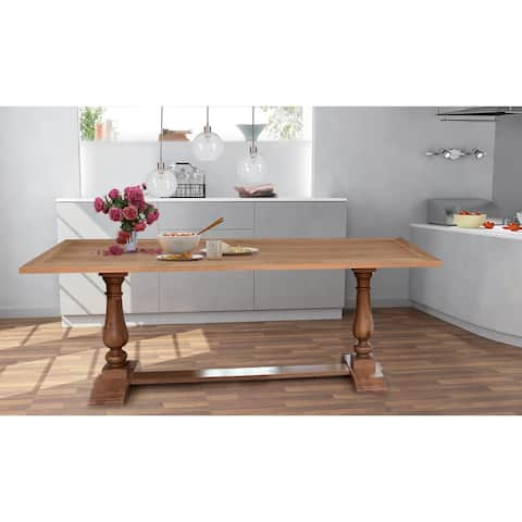 Hector 95-inch Acacia Wood Dining Table