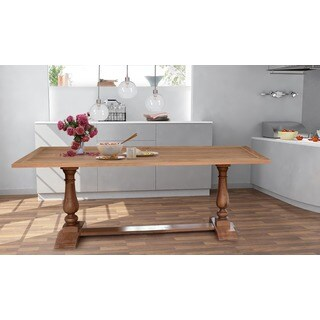 Hector 95-inch Dining Table, acacia wood