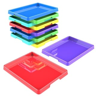 Storex Sorting and Crafts Tray, 12 x 16 Inches, 12-Pack