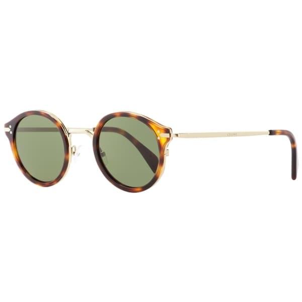 0a4c83efc350c Shop Celine CL41082S 3UA1E Womens Gold Havana 46 mm Sunglasses - Free  Shipping Today - Overstock - 24301531