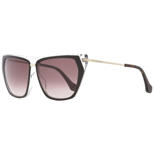 Mm Sunglasses Blackcleargold Ba105 Balenciaga 05t 58 Womens n0vmN8Ow