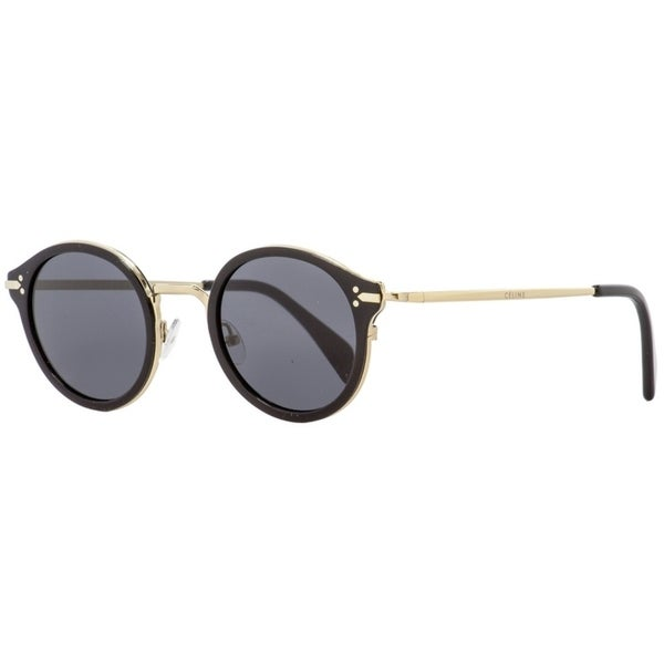 f9c381e48926 Shop Celine CL41082S ANWBN Womens Black Gold 46 mm Sunglasses - Free  Shipping Today - Overstock - 24301541
