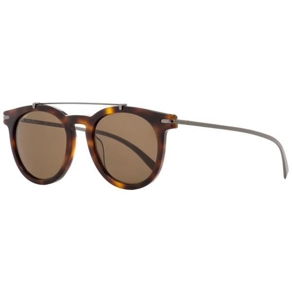 0cda323282f Shop Salvatore Ferragamo SF821S 214 Womens Havana Gunmetal 51 mm Sunglasses  - Free Shipping Today - Overstock.com - 24301545