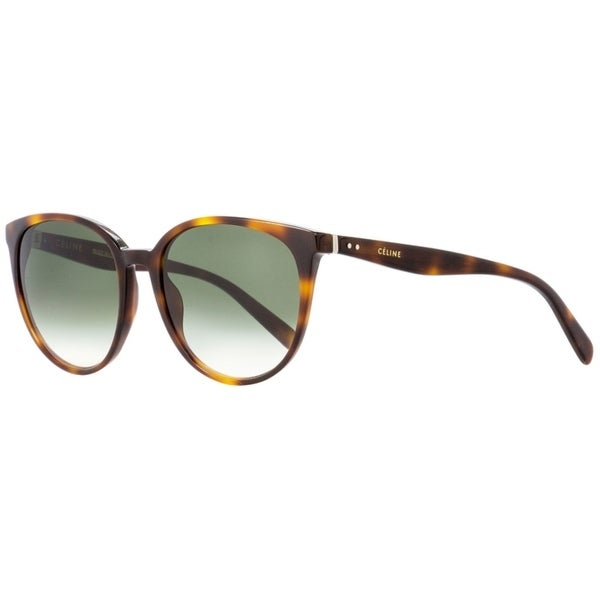 61d6704020c8c Shop Celine CL41068S 05LXM Womens Havana 55 mm Sunglasses - Free Shipping  Today - Overstock - 24301601