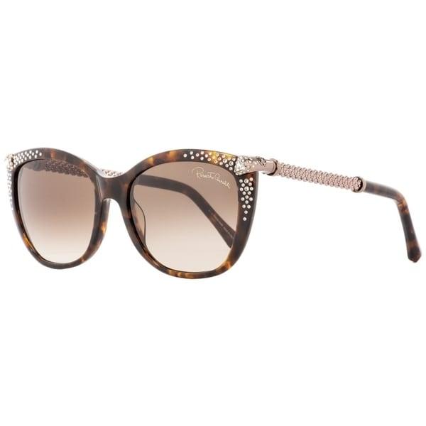 58a6465671 Shop Roberto Cavalli RC978S Talitha 52F Womens Havana Bronze 55 mm  Sunglasses - Free Shipping Today - Overstock - 24301644