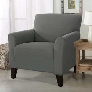 Porch & Den Concordia Stretch Form-Fitted Chair Slipcover
