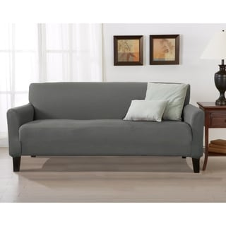 Porch & Den Concordia Stretch Form-Fitted Sofa Slipcover