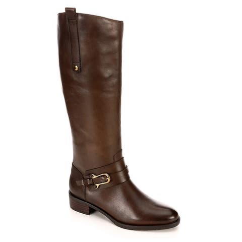 Franco Fortini Womens Raya Wide Calf Riding Boot Shoes