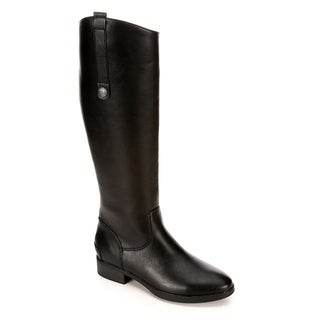 Xappeal Womens Emery Knee High Leather Riding Boot Shoes