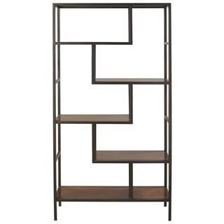 Frankwell Brown/Black Bookcase