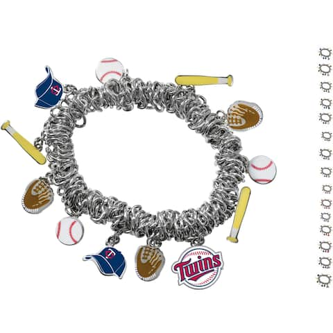 Official Authorized Game Time MLB Stretch Bracelet, Pick your Team