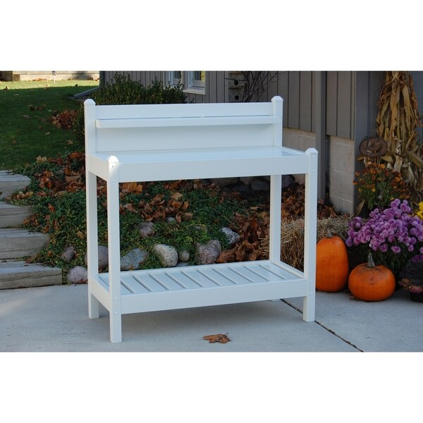 Shop Greenfield Potting Bench On Sale Free Shipping