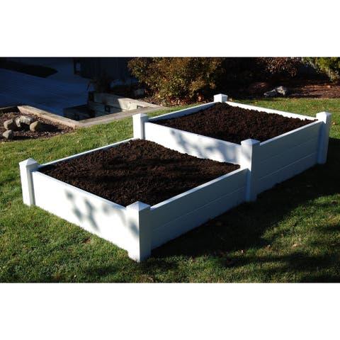 4'x8' Split Level Planter Bed/Sand Box