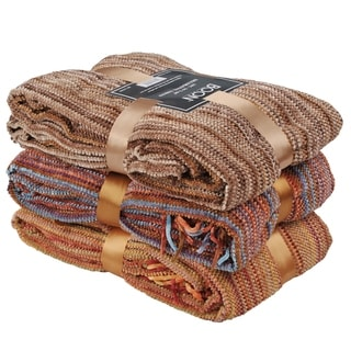 Link to BOON Multi Color Crystal Chenille Throw Blanket Similar Items in Blankets & Throws