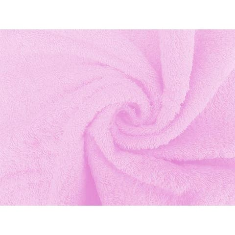 Solid Pink 100% Cotton Hand Towel