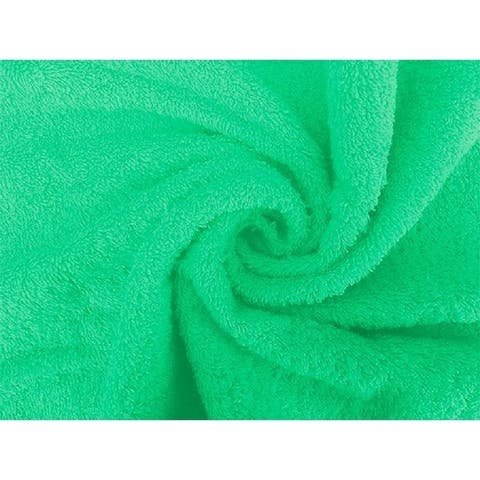 Solid GREEN 100% Cotton Hand Towel
