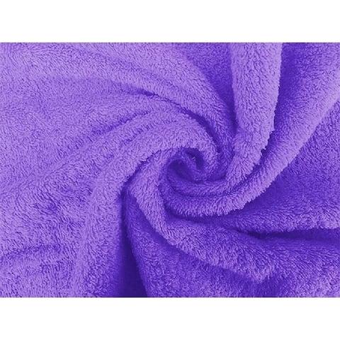 Solid Lavender 2 piece 100% Cotton Hand Towel