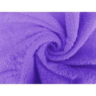 Solid Lavender 2 piece 100% Cotton Hand Towel