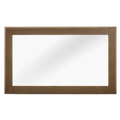 Talwyn Wood Frame Mirror - chestnut