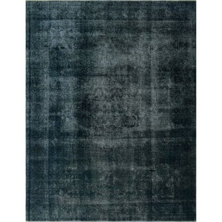 "Noori Rug Distressed Overdyed Kaylie Grey/Brown Rug - 9'4"" x 12'5"""