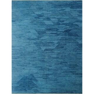 "Noori Rug Winchester Kilim Qitarah Blue Rug - 9'4"" x 12'0"""