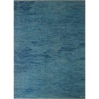 """Noori Rug Winchester Kilim Bibiana Blue Rug - 9'1"""" x 12'1"""""""