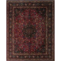 "Noori Rug Semi-Antique Distressed Ariya Pink/Blue Rug - 9'8"" x 11'10"""