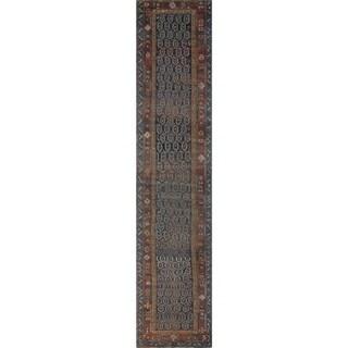 "Noori Rug Antique Kimber Blue/Rust Runner - 3'0"" x 14'10"""
