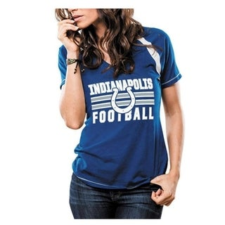 Majestic Indianapolis Colts Her Day T Size Large - Blue