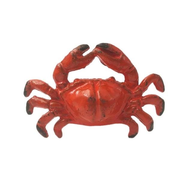 Crab Metal Drawer Knob - Set of 6