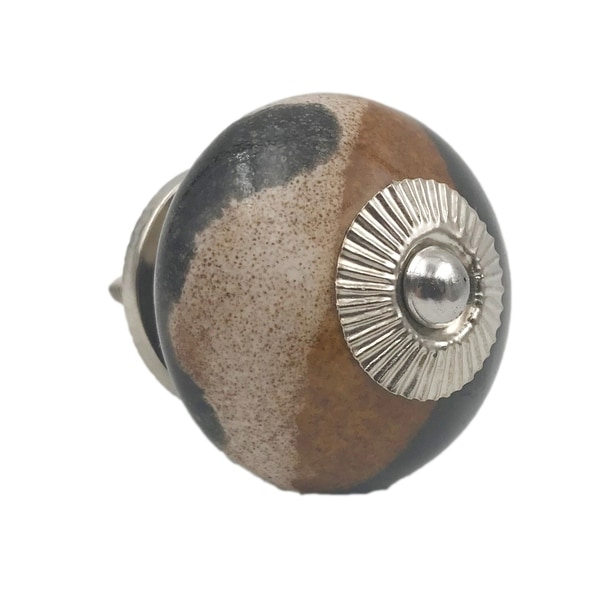 Marble Striped Knobs - Set of 6