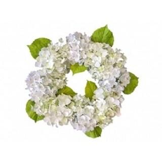 "24"" Hydrangea blossom wreath"