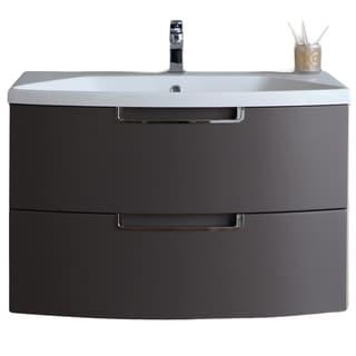 Eviva Lola 40 in, Wall Mounter Bathroom Vanity
