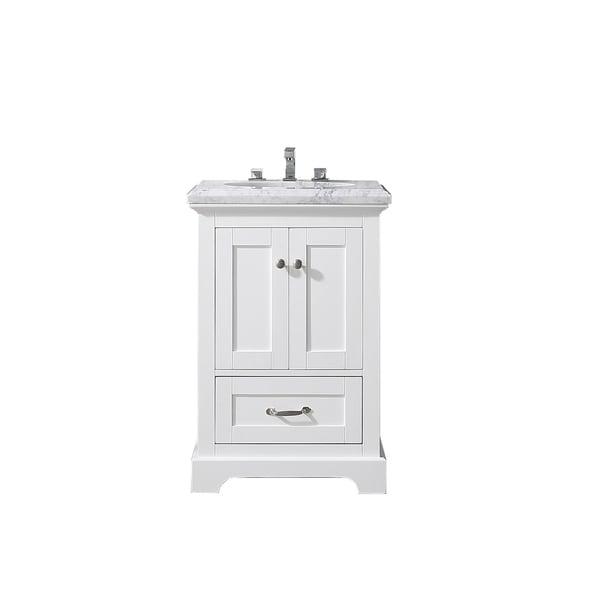 Eviva Houston 24 in. White Bathroom Vanity