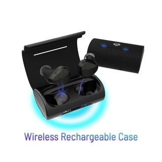 Cobble Pro BT 5.0 In-Ear True Wireless Earbuds [One-Step Auto-Pairing] w/ Mic & Charging Case for iPhone/ Samsung (30H Playtime)