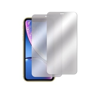 INSTEN 2-Pack 9H Hardness Mirror Tempered Glass Screen Protector for Apple iPhone XR 6.1-inch (2018)