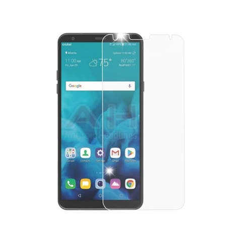 INSTEN Clear Tempered Glass Screen Protector for LG Stylo 4/Stylo 4 Plus
