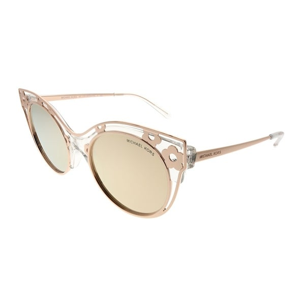 5a8046337c19 Michael Kors Cat-Eye MK 1038 Melbourne 30505A Woman Crystal Clear Frame  Liquid Rose Gold. Click to Zoom