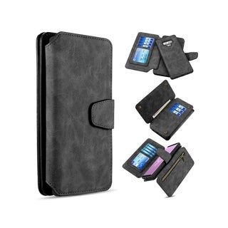 Insten Detachable Magnetic Folio Flip Leather Wallet Flap Pouch Case Cover Compatible With Samsung Galaxy Note 9